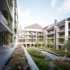 Met de steun van Scholen van Morgen, het Bisdom Hasselt en de Zusters Ursulinen bouwt VTI Hasselt momenteel een volledig nieuw schoolgebouw op de site van