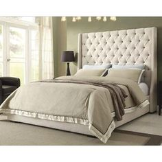 Park Ave King Bed in Desert Sand | Nebraska Furniture Mart