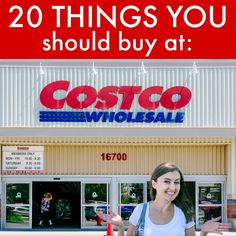 20 Things You Should Buy At Costco