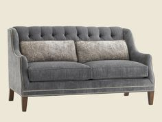 Images Of Courtrai Sloane Tufted Settee - Lexington Home Brands