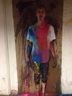 Nicklas got painted