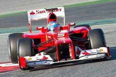 BARCELONE - 21 février 2012: Fernando Alonso - Ferrari F1 Team