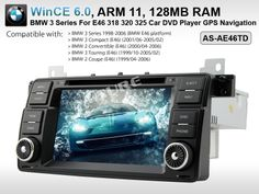 "7"" DVD DVB-T TMC Player GPS sat nav System for BMW 3 Series E46 318 320 325 330"