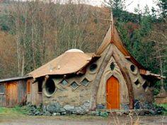 Fantastic small cob house