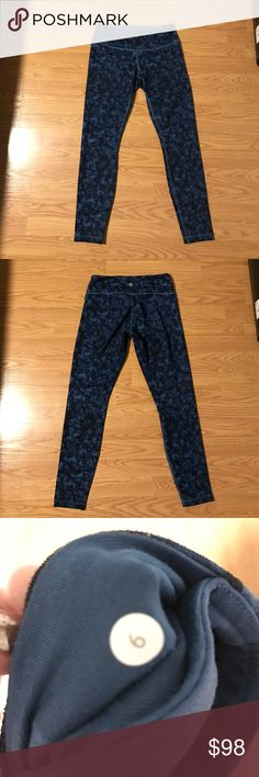 Lululemon Wunder Under Pants EUC Wunder Under Pant in Luon fabric lululemon athletica Pants Leggings