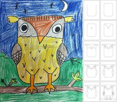 How to Draw an Owl   Art Projects for Kids                              …