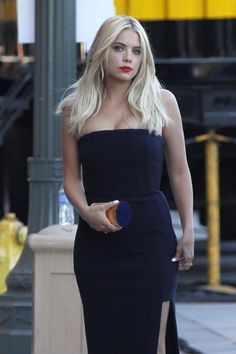 Ashley Benson August 16, 2015 - Outside the 2015 Teen Choice Awards in LA.