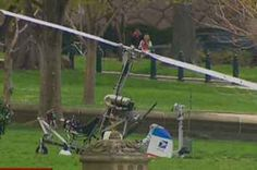 Security Scare As Man In Gyrocopter Lands On U.S. Capitol Lawn