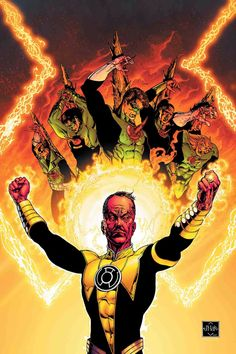 ADN Collections - Il database italiano sulla DC Comics!: DC Comics: Sinestro Corps War Story [Indice]