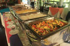 pachira lodge lunch   - Costa Rica