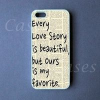 Iphone 5 Case -  Our Story Iphone 5 Cover