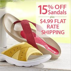 So Sandalous! Save 15% OFF Sandals + $4.99 FLAT RATE SHIPPING. Use Code: PN15OFF