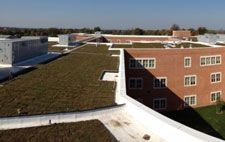 Sempergreen® USA is proud to announce this week's installation of a green roof on top of Gaithersburg High School in Maryland. (http://www.livingarchitecturemonitor.com/index.php/news/allnews/262-sempergreen-usa-installs-green-roof-at-gaithersburg-school) | #school #ecoschool #greenschool #eco #green #roof #greenroof #sustainable #sustainability #rooftop #vegetated #plants