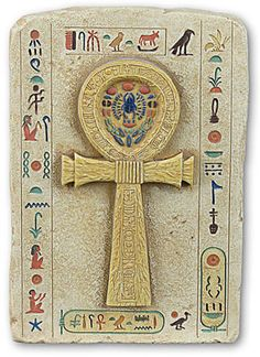 Only Egyptian Kings, Queens and Gods were allowed to carry this symbol. The ankh is the Egyptian sign of life and indicates that the King or God holding it has the power to give life or take it away from lesser mortals.