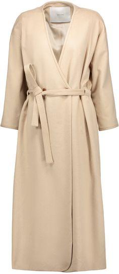 af74370230c ADAM by Adam Lippes Tie-waist camel-hair coat - ShopStyle
