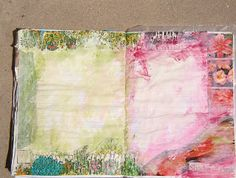 Kellis Ramblings: This one is an Art Journal...Or something like it..  many more pics on her blog