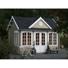 Wooden Garden Cabin kit , Hunting Cabin, Camping Cabin, Sheds and Saunas Sale BZB Cabins and Outdoors Prefab Cabin Kits, Prefab Cabins, Wood Cabins, Prefab Pool House, Pool Houses, Lakeview Cabin, Diy Log Cabin, Garden Cabins, Shed Kits