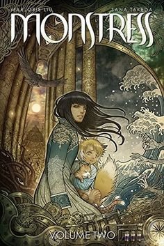 Monstress, Vol. 2: The Blood by Marjorie M. Liu, Sana Takeda (Artist) #comics #sequentialart #horror #graphicnovel #gothic