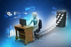 3d clerk working in the office ...  3D Human, 3D man, 3d, 3d person, business, business man, chair, clerk, computer, concept, corporate, desk, documents, employee, executive, file, folder, graphic, guy, human, illustration, information, isolated, job, laptop, man, manager, notebook, occupation, office, paper, paperwork, people, person, pressure, professional, red, render, secretary, service, stress, stressed, stressful, table, woman, work, worker, workplace