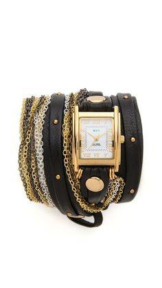Venice Stud Wrap Watch