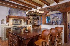 Gourmet Kitchen at Home in Rancho Santa Fe