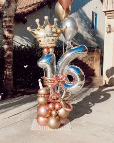 """𝟗𝟎𝟗 𝐏𝐫𝐞𝐭𝐭𝐲 𝐏𝐞𝐭𝐚𝐥𝐬 on Instagram: """"Thank you all for your preference and supporting our small business in these challenging times 🤍 . . #balloonbouquet #balloons #giftideas…"""" Happy Balloons, 16 Balloons, Small Balloons, Number Balloons, Balloon Shop, Balloon Display, Balloon Gift, House Party Decorations, Birthday Balloon Decorations"""
