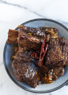 Braised Chipotle Short Ribs
