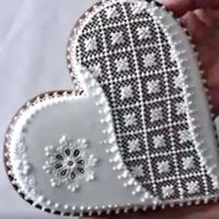 Patisserie Design, Royal Icing, Gingerbread Cookies, Christmas, Decorated Cookies, Christmas Biscuits, Wood, Hearts, Gingerbread Cupcakes
