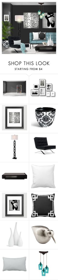 """Modern Sleek"" by colormegirly ❤ liked on Polyvore featuring interior, interiors, interior design, home, home decor, interior decorating, Grandin Road, Kenroy Home, Mitchell Gold + Bob Williams and Cyan Design"