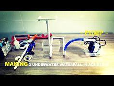 How to Make 2 Underwater waterfall in Aquarium (DIY detail) - YouTube