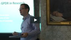 Dr David Erdos: The impact of the GDPR in academic research General Data Protection Regulation, Research, University, Reading, Search, Community College, Science Inquiry, Colleges