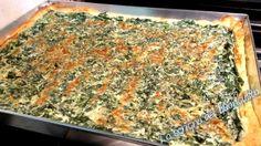 PIZZA SALATA RICOTTA E SPINACI                     CLICCA QUI PER LA RICETTA   http://loscrignodelbuongusto.altervista.org/pizza-salata-ricotta-e-spinaci/                                   #pizza #tortasalata #ricette #spinaci #pastasfoglia #ricetteveloci #Food #solocosebuone