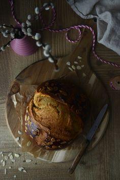 Kváskový mazanec - Inspiracie.sk Bread, Food, Brot, Essen, Baking, Meals, Breads, Buns, Yemek
