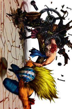 One Piece, Eustass Kid, Killer One Piece Anime, Anime One, Manga Anime, One Piece Fairy Tail, One Piece World, The Pirate King, 0ne Piece, Monkey D Luffy, Fan Art