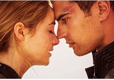 Tris and Four - Divergent, staring Shailene Woodley & Theo James