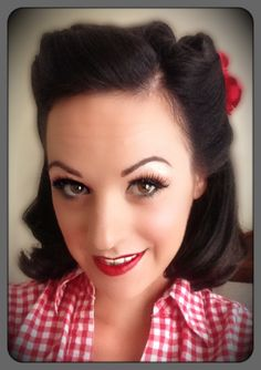 Vintage hair for the day