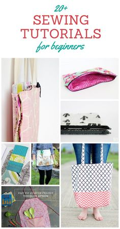 20+ Sewing Tutorials