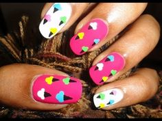 Super Easy & Cute Ice Cream Nail Art HD