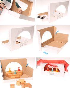 Verpackung - Bastelidee | Ideenreich | Grimms Spiel und Holz Design