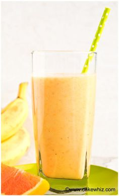 This tropical banana orange mango smoothie is healthy and perfect for breakfast or an after workout snack! It's so refreshing during the hot Summer days!