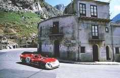 Targo Florio race track, Sicily. 1906-1977.