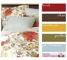 warm, rustic color palette
