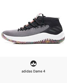 save off 5f1c4 1494a adidas Dame 4  men  shoes  sneakers Xavier Basketball, Basketball Hoop,  Adidas