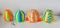 Jak wykonać ozdobne jajka ? Jak wykonać karczochy ? Jajka ze wstążki Diy, Scrappy Quilts, Do It Yourself, Bricolage, Homemade, Fai Da Te, Diys