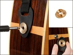 StewMac Acoustic Strap Secure