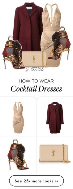"""""""Untitled #250"""" by piinkdreamss on Polyvore featuring Gianluca Capannolo, Yves Saint Laurent and Dsquared2"""