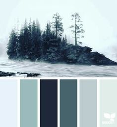 grey | eucalyptus | pale mint | duck egg blue | black