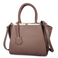 Vbiger Handbags for Women Shoulder Bag Leather Purses Tote Light Purple ** Visit the image link more details.