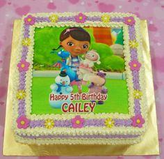 doc mcstuffins birthday cakes | Jenn Cupcakes & Muffins: Doc McStuffins Image Cake