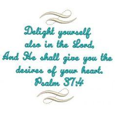 Psalm 37:4 Scroll
